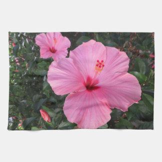 Hibiscus Tea Towel