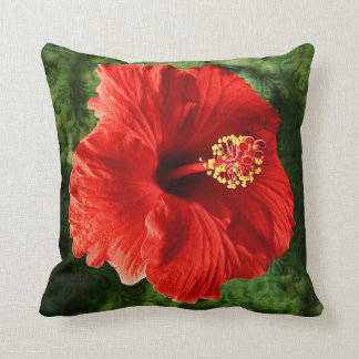 Hibiscus Template Pillow-Personalize Cushion
