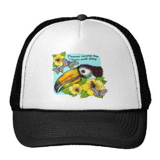 Hibiscus Toucan Cap