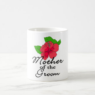 Hibiscus Tropical Mother of the Groom Coffee Mug