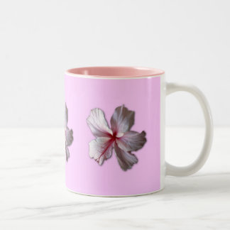 Hibiscus Two-Tone Coffee Mug