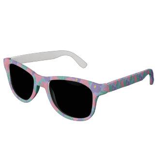 Hibiscus Watercolor Print Sunglasses