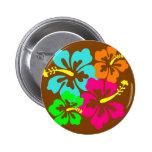HibiscusCircle Pin