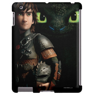 Hiccup & Toothless iPad Case