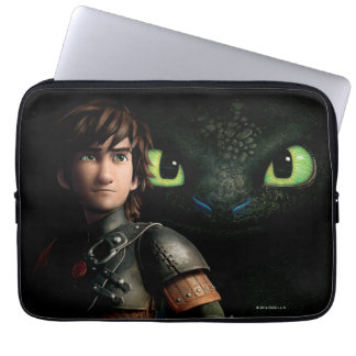 Hiccup & Toothless Laptop Sleeves
