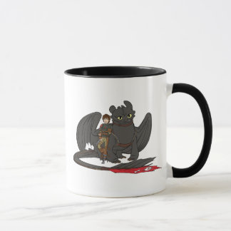 Hiccup & Toothless Mug
