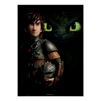 Hiccup & Toothless Posters