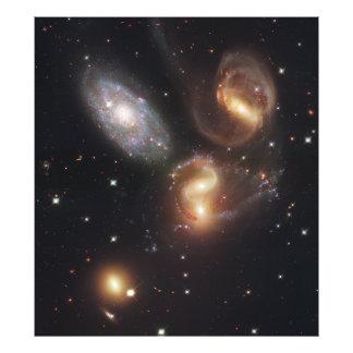 Hickson Compact Group 92 Stephan s Quintet Photo Print
