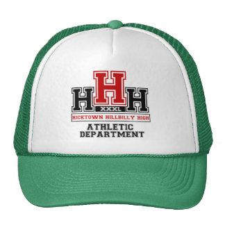 Hicktown Hillbilly Highschool for Hillbillies Trucker Hat