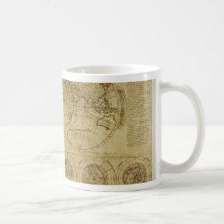 Hictoric World Maps - old World Maps Mugs