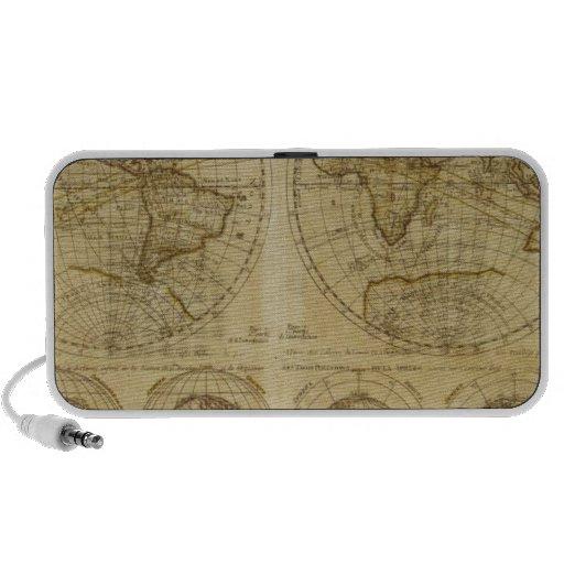 Hictoric World Maps - old World Maps iPhone Speaker
