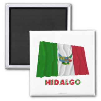 Hidalgo Waving Unofficial Flag Magnets