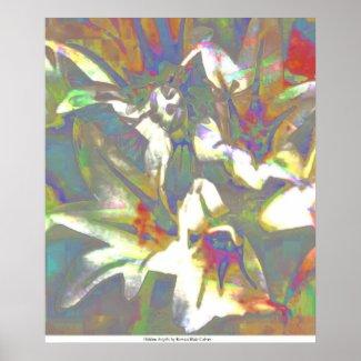 Hidden Angels by Rowan Blair Colver Poster
