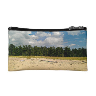Hidden beach cosmetic bags
