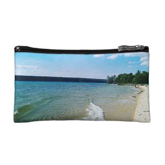 Hidden beach cosmetics bags