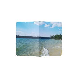 Hidden beach passport holder
