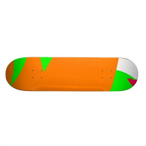 Hidden Cascade Revealed in the Sunlight Custom Skateboard