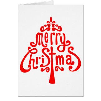Hidden Christmas Message Card
