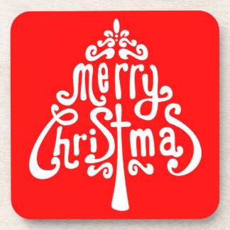 Hidden Christmas Message Coaster