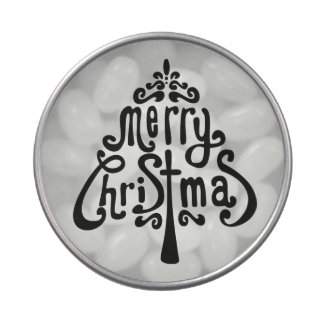 Hidden Christmas Message Sweets Candy Tins
