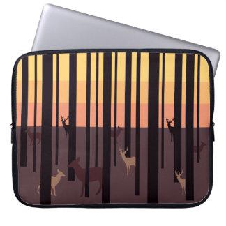 Hidden Dears Neoprene Laptop Sleeve