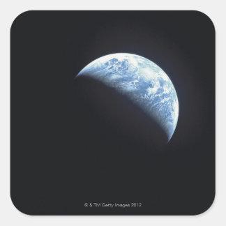 Hidden Earth Square Sticker