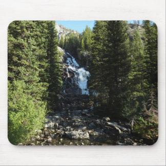 Hidden Falls in Grand Teton National Park Mouse Mat
