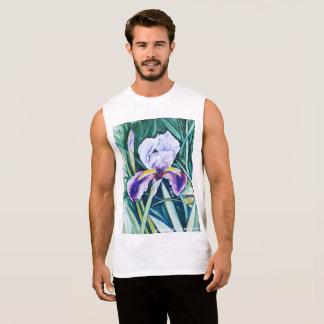 Hidden Figures of an Iris Sleeveless Shirt