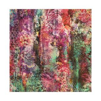 Hidden Flowers Canvas Print
