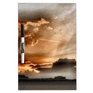 Hidden Glory Sunset Dry Erase Board