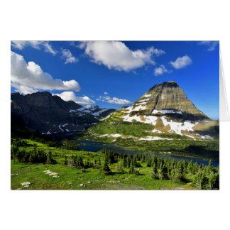 Hidden Lake and Bearhat Mountain Card