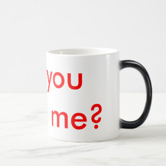 Hidden Marriage Proposal Morphing Mug