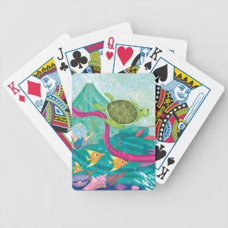 Hidden Ocean Treasures Bicycle Playing Cards