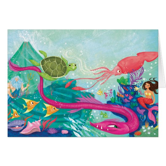 Hidden Ocean Treasures Card