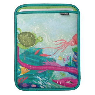 Hidden Ocean Treasures iPad Sleeve