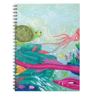 Hidden Ocean Treasures Note Books