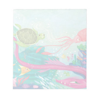 Hidden Ocean Treasures Notepads