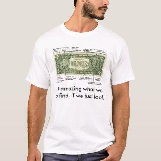 Hidden One Dollar Bill T-Shirt