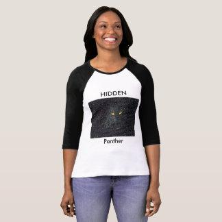 Hidden Panther Flower T-Shirt