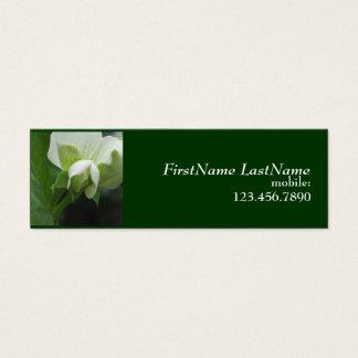 Hidden Peas Template skinny Gardener profile card