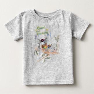 """""""Hidden Treasures"""" Baby Fine Jersey T shirt Grey"""