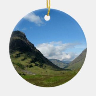Hidden Valley Glencoe Scotland Christmas Ornament