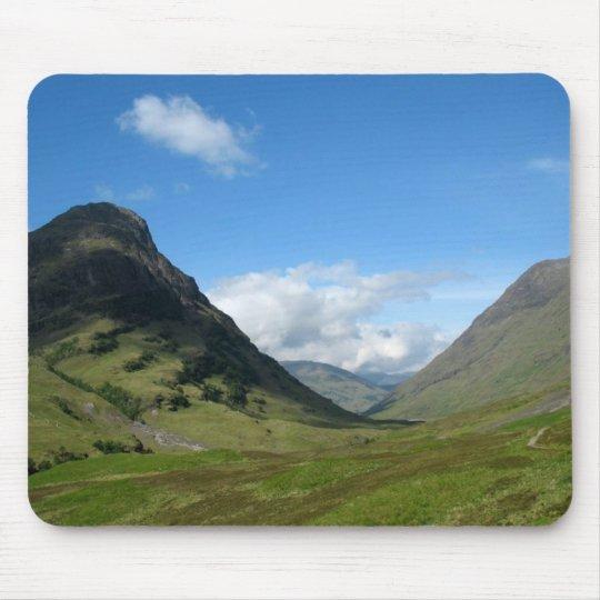Hidden Valley Glencoe Scotland Mouse Mat