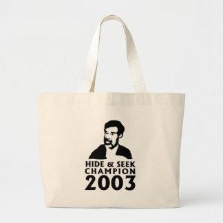 Hide And Seek Champion 2003 Jumbo Tote Bag