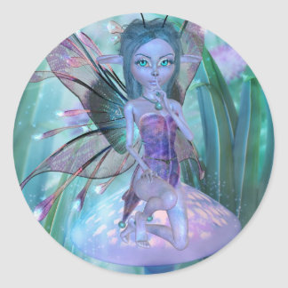 Hide and Seek Fairy Sticker
