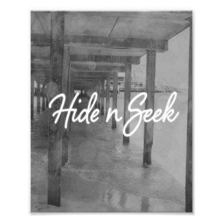 Hide n Seek Photo Print