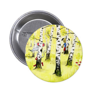 Hide & Seek 6 Cm Round Badge