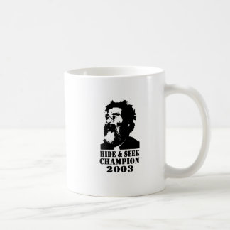 Hide & Seek Champ 2003 Basic White Mug