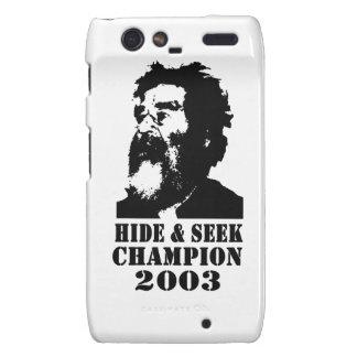 Hide & Seek Champ 2003 Droid RAZR Cases