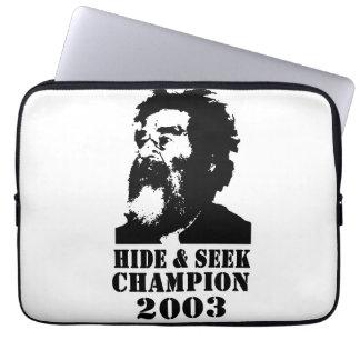 Hide Seek Champ 2003 Laptop Sleeves